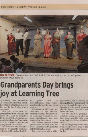 The Hindu - Grandparents Day 14-Aug-2011